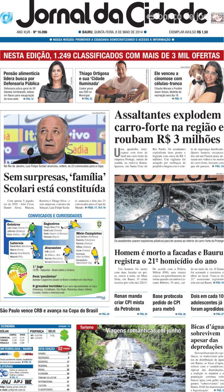 Jornal da Cidade - Bauru
