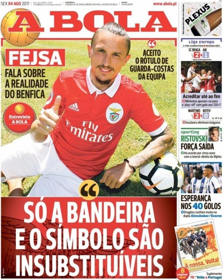 Já são conhecidos os adversários das equipas portuguesas no playoff de  acesso à fase de grupos da Liga Europa beb66a5fa5424