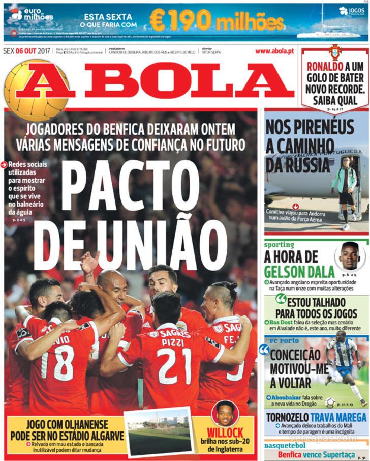 83f83ca4ef Fora-de-jogo  Capas  Os desejos de JJ. Quem quer sair do Sporting ...