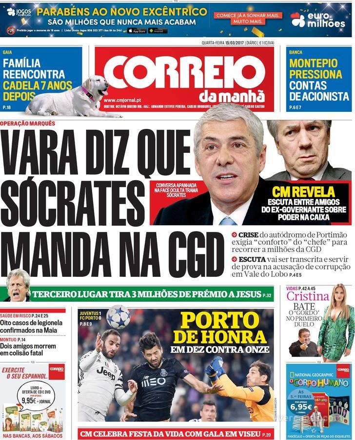 Capa Dos Jornais Extra Desporto Desportivo