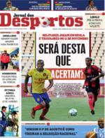 Jornal dos Desportos - 2020-01-25