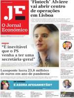 Jornal Económico - 2021-08-20