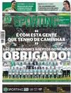 Jornal Sporting - 2016-05-19