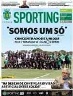 Jornal Sporting - 2018-08-09
