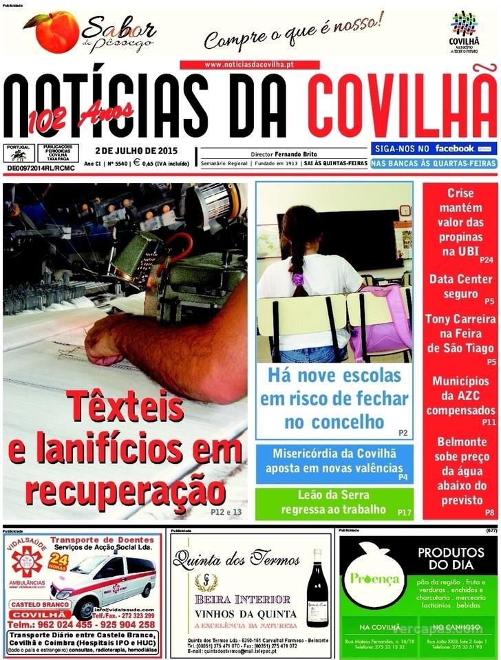 Not�cias da Covilh�
